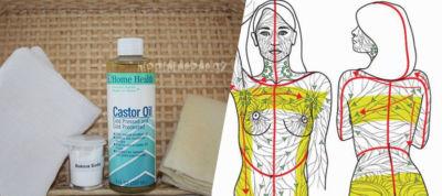 Καστορέλαιο: Πως να το Χρησιμοποιήσετε για να Αποτοξινώστε Άμεσα το Λεμφικό σας Σύστημα