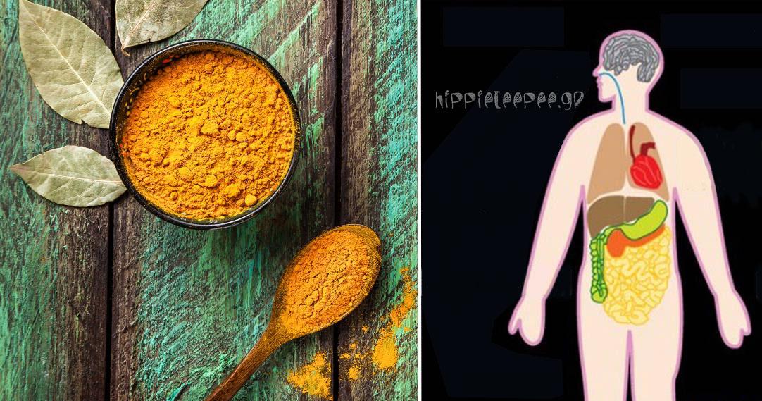 Με μισό κουταλάκι Κουρκούμη αυτά τα 10 πράγματα θα συμβούν στο σώμα σας