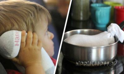 Κάλτσα με Αλάτι και Λεβάντα για την Άμεση Ανακούφιση του Πόνου και τη Θεραπεία της Μόλυνσης των Αυτιών
