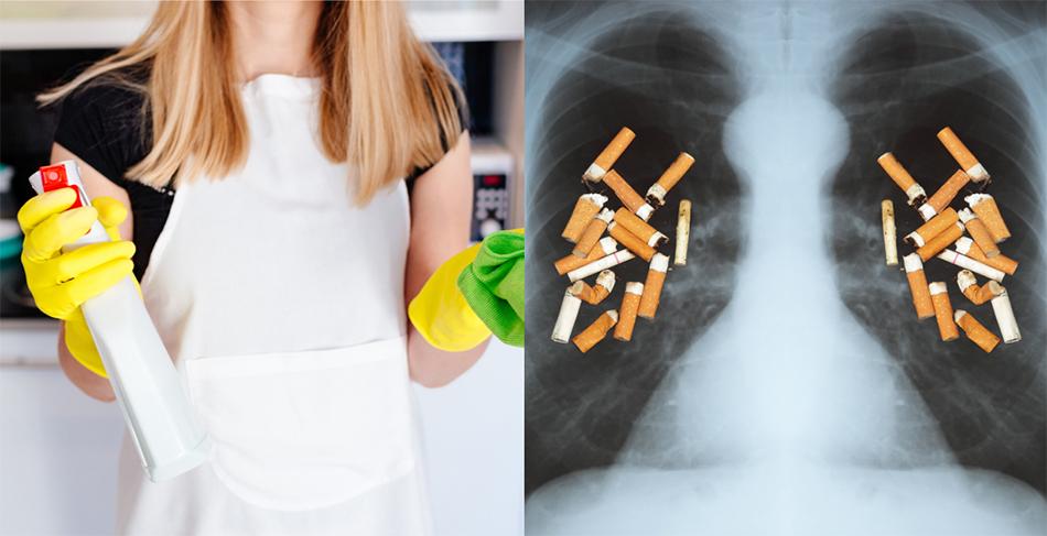 Απορρυπαντικά! Μελέτες Αναφέρουν ότι η Χρήση τους Ισοδυναμεί με Κάπνισμα 20 Τσιγάρων Ημερησίως!