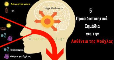 5 Προειδοποιητικά Σημάδια για την Ασθένεια της Μούχλας!