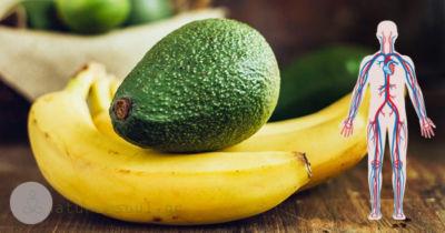 Απολαύστε Μπανάνες και Αβοκάντο και Αποφύγετε τα Εμφράγματα