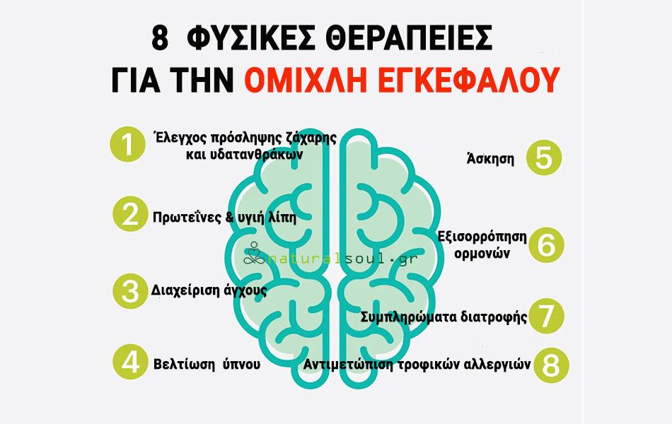 Ομίχλη Εγκεφάλου – Αιτίες και Φυσικές θεραπείες.