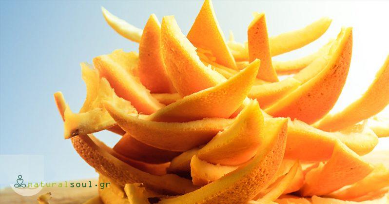 7 φανταστικά πράγματα που μπορείτε να κάνετε με τις φλούδες του πορτοκαλιού…πριν καταλήξουν στο καλάθι των απορριμάτων.