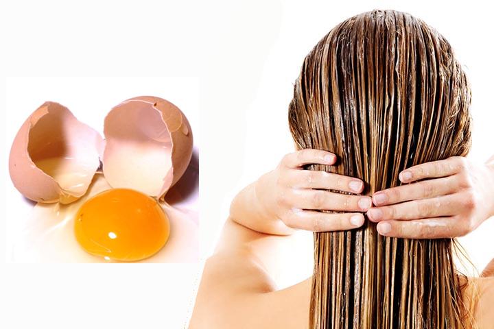 Σπιτική μάσκα μαλλιών με αυγό! Χαρίστε υγεία στα μαλλιά σας!